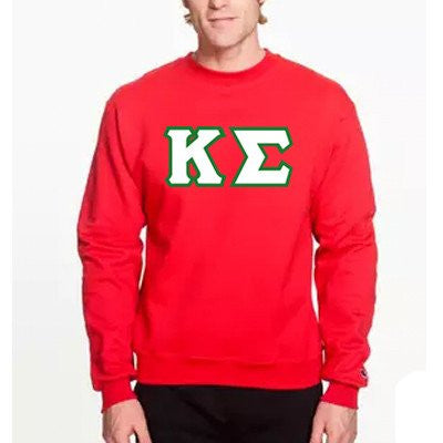 greek sorority fraternity champion crewneck sweatshirt custom greek clothing somethinggreek