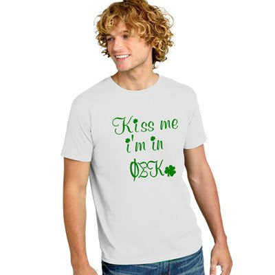 Something Greek Custom Fraternity Printed St. Patty's Day Tee Shirt