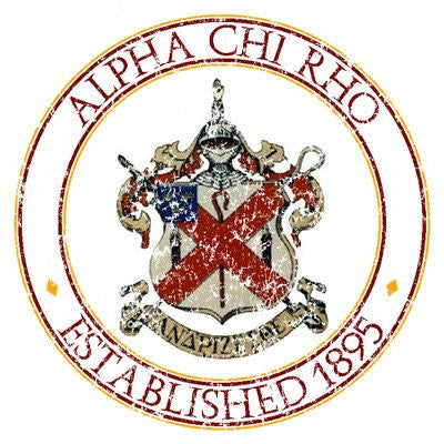 Fraternity Distressed Crest Design