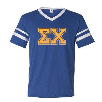 Fraternity Striped T-Shirt