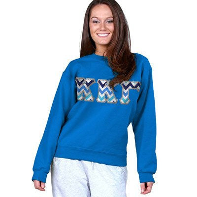 greek sorority crewneck sweatshirt somethinggreek