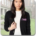 Gamma Phi Beta Sorority custom embroidered Greek merchandise
