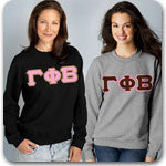 Gamma Phi Beta Sorority clothing specials and Greek gear