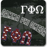 Gamma Phi Omega Sorority gifts and Custom Greek accessories