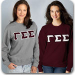 Gamma Sigma Sigma Sorority clothing specials and Greek merchandise