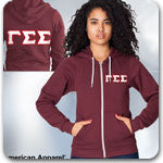 Gamma Sigma Sigma Sorority letter Greek gear