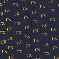 Gamma Chi Black Pattern