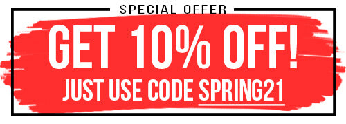 Get 10% Off Recruitment Spring21 Special Offer Button