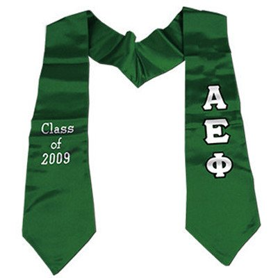 Twill Lettered Graduation Stoles