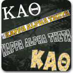 Kappa Alpha Theta Sorority custom Greek merchandise