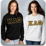 Kappa Alpha Theta Sorority clothing Custom Greek merchandise Greek shirts package specials