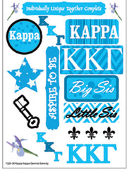 Kappa Kappa Gamma Sorority Greek stickers and gear