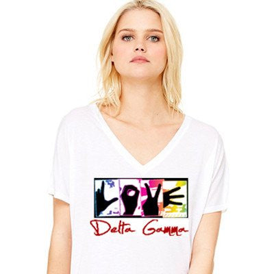 greek sorority love delta gamma dg SomethingGreek clothing