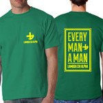 every man recruitment design rush week fraternity sorority greek clothing