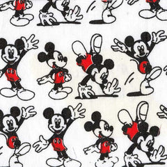 Mickey Red Pattern