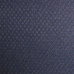 Diamond Embossed Navy Pattern
