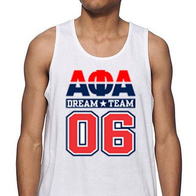 Sublimated Greek Tank
