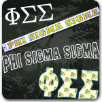 Phi Sigma Sigma Sorority gifts and Greek accessories