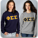 Phi Sigma Sigma Sorority clothing specials on Greek gear