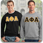 Alpha Phi Alpha Fraternity clothing specials and Custom Greek merchandise