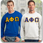 Alpha Phi Omega Fraternity clothing specials and Custom Greek merchandise