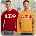 Alpha Sigma Phi Fraternity clothing specials sale Custom Greek merchandise