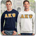 Alpha Kappa Psi Fraternity clothing specials on custom Greek merchandise