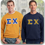 Sigma Chi Fraternity clothing specials on custom Greek merchandise