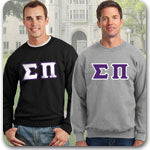sigma pi fraternity clothing specials on Custom Greek merchandise