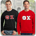 Theta Chi fraternity clothing special sale Custom Greek merchandise
