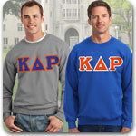 Kappa Delta Rho Fraternity clothing specials and Greek apparel