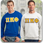 Pi Kappa Phi Fraternity clothing specials on Custom Greek merchandise