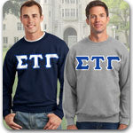 Sigma Tau Gamma Fraternity Letter clothing specials Custom Greek gear