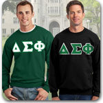 Delta Sigma Phi Fraternity clothing specials on Custom Greek merchandise
