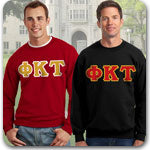 Phi Kappa Tau Fraternity clothing specials on custom Greek merchandise