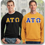 Alpha Tau Omega Fraternity clothing specials and Greek gear discounts