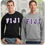 Phi Gamma Delta FIJI Fraternity clothing specials and Greek gear