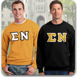 Sigma Nu Fraternity clothing specials on Custom Greek gear
