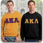 Alpha Kappa Lambda Fraternity clothing specials and Greek merchandise sale