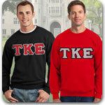 Tau Kappa Epsilon Fraternity clothing specials on Greek gear