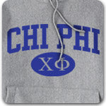 Chi Phi Fraternity custom printed Greek gear