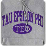 Tau Epsilon Phi Fraternity custom printed Greek merchandise