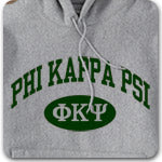 Phi Kappa Psi Fraternity custom printed Greek gear
