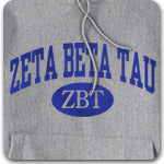 Zeta Beta Tau Fraternity printed Greek merchandise