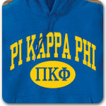 Pi Kappa Phi Fraternity custom printed Greek clothing