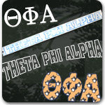 Theta Phi Alpha Sorority gifts and Greek accessories