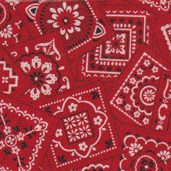 Red Bandana Pattern