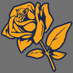 Rose print design for Custom Greek sorority clothing