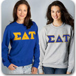 Sigma Delta Tau Sorority clothing specials on Custom Greek merchandise