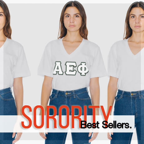 American Apparel Sorority clothing and Custom Greek merchandise